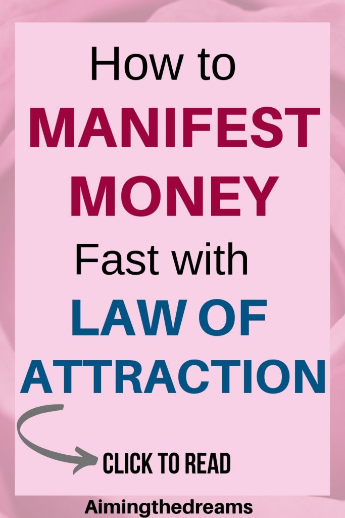 How To Manifest Money 5 Steps